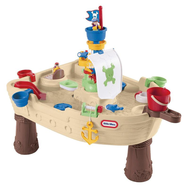 Water Table Pirate Ship photo