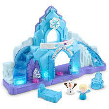 Frozen Little People Castle and Carriage